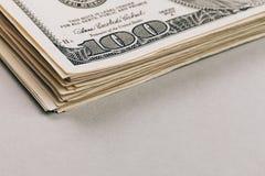 Крупный план денег Стоковые Изображения RF