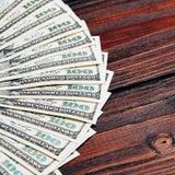 Крупный план денег Стоковая Фотография