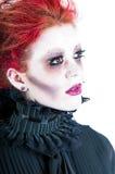 Крупный план женщины зомби Стоковое Фото