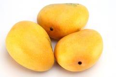 Крупный план зрелых манго Стоковое Фото