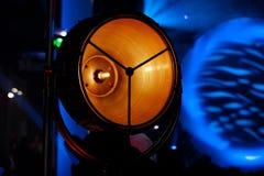 Крупный план источника света этапа Стоковая Фотография RF