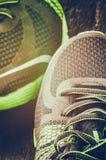 Крупный план идущих ботинок Стоковая Фотография RF
