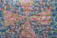 Крупный план картины лоскутного одеяла Амишей Стоковые Фото