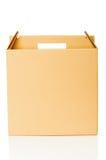 Крупный план картонной коробки Стоковая Фотография RF