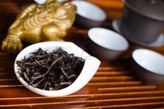 Крупный план китайца чая Стоковые Фото