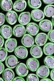 Крупный план коаксиальных кабелей Стоковое фото RF