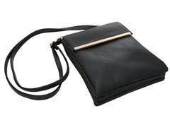 Крупный план кожаной сумки Стоковое Фото