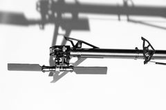Крупный план контролируемых радио частей вертолета Стоковое Изображение
