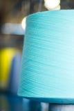Крупный план конуса пряжи цвета Стоковые Фото