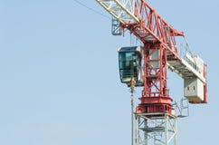 Крупный план крана башни Стоковое Фото