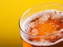 Крупный план кружки пива Стоковая Фотография