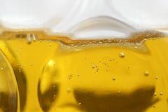 Крупный план кружки пива Стоковые Изображения
