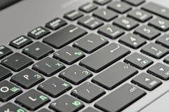 Крупный план клавиатуры Стоковая Фотография RF