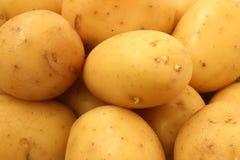 Крупный план клубней картошки стоковые изображения