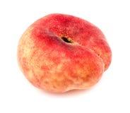 Крупный план макроса яркого красочного изолированного персика донута Стоковые Изображения