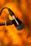 Крупный план микрофона Стоковые Фото