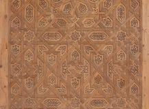 Крупный план морокканской двери Стоковые Фото