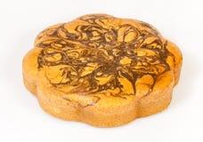 Крупный план мраморного торта Стоковые Изображения RF
