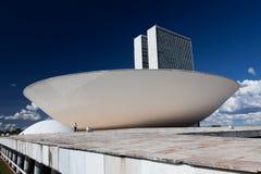 Национальный конгресс Бразилии стоковые изображения rf
