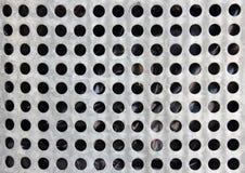 Крупный план на стальном бочонке с черной пластмассой внутрь Стоковые Изображения