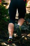 Крупный план ног бегуна Стоковые Фотографии RF