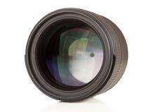 Крупный план объектива фотоаппарата Стоковое фото RF