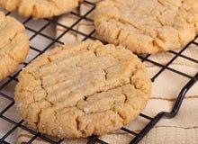 Крупный план печений арахисового масла Стоковое Фото