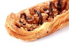Крупный план печенья банана и шоколада Стоковое Фото
