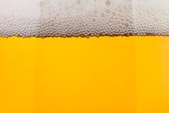 Крупный план пива ясный ровный Стоковое Изображение