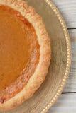 Крупный план пирога тыквы Стоковые Изображения RF