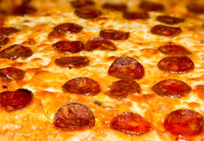 Крупный план пиццы Pepperoni Стоковое Фото