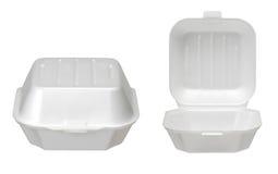 Крупный план пищевого контейнера Стоковые Изображения RF