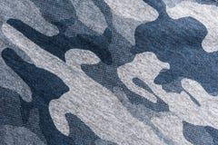 Крупный план поверхности военной формы, абстрактной предпосылки Стоковое Изображение