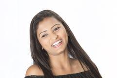 Крупный план подростка Desi Стоковые Фотографии RF