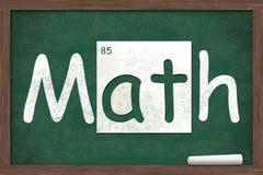 крупный план подсчитывая математику урока нумерует студента Стоковая Фотография