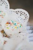 Крупный план подъема свадьбы Стоковое фото RF