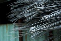 Крупный план проводов металла Стоковые Изображения RF