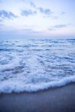 Крупный план пузыря морской воды стоковое изображение