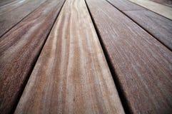 Крупный план древесины cumaru трудной Стоковое Изображение RF