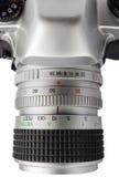 Крупный план сетноого-аналогов объектива фотоаппарата Стоковое Фото