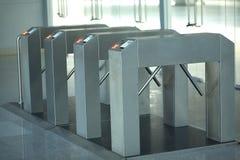 Крупный план системы контроля допуска Стоковое фото RF