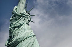 Крупный план статуи свободы Стоковые Фотографии RF
