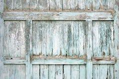 текстура двери Краск-шелушения деревянная старая стоковое фото