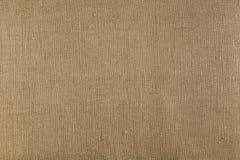 Крупный план текстуры мешковины Стоковая Фотография RF