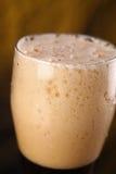 Крупный план темного пива Стоковые Фото