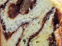 Крупный план торта губки Стоковая Фотография