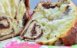 Крупный план торта губки Стоковое Изображение RF