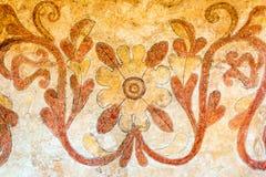 Крупный план художественного произведения церков Санта-Ана Стоковое Изображение RF