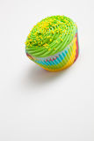Крупный план цветастого пирожного Стоковое фото RF