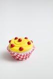 Крупный план цветастого пирожного Стоковые Фотографии RF